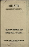 catalog 1915-1917 by Georgia College and State University