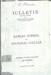 catalog 1920 by Georgia College and State University