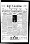 Colonnade November 25, 1926