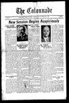 Colonnade September 30, 1927