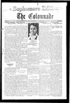 Colonnade April 28, 1928