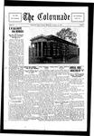 Colonnade October 15, 1928