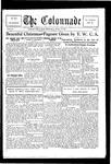 Colonnade December 15, 1928