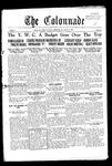 Colonnade October 8, 1929