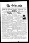 Colonnade November 5, 1929