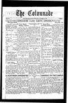 Colonnade October 25, 1930