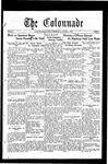 Colonnade November 1, 1930