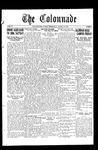Colonnade November 29, 1930