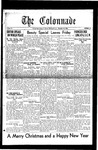 Colonnade December 16, 1930