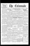 Colonnade April 28, 1931