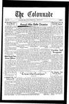 Colonnade October 20, 1931