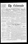 Colonnade October 26, 1931