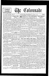 Colonnade December 7, 1931
