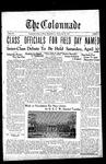 Colonnade April 25, 1932