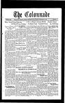 Colonnade September 27, 1932