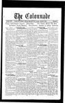 Colonnade October 4, 1932