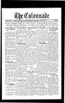 Colonnade May 9, 1933
