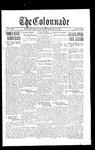 Colonnade October 7, 1933