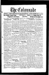 Colonnade November 4, 1933