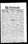 Colonnade November 18, 1933