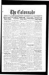 Colonnade December 5, 1933