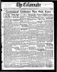Colonnade October 9, 1937
