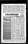 Colonnade November 20, 1969