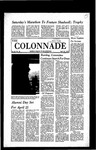 Colonnade April 16, 1970